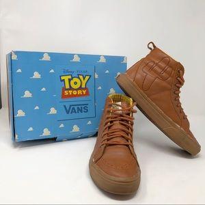 [Vans] Disney Toy Story Woody High Top Sneakers
